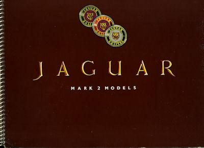 Jaguar Mark 2 Modelle Prospekt ca. 1959