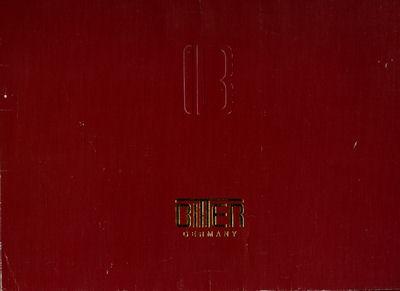 Bitter SC Prospekt-Mappe 8.1985