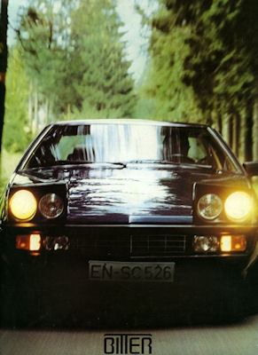 Bitter Coupé Prospekt 1984