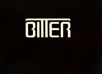 Bitter SC Prospekt 8.1980