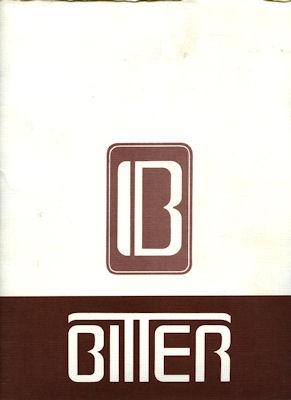 Bitter Mappe 1980er Jahre