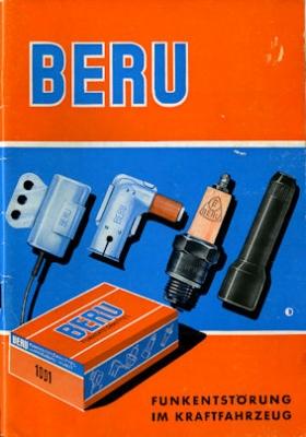 Beru Funkentstörung im Kfz Katalog 1965