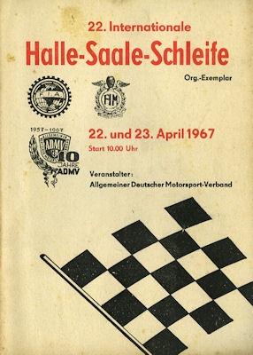 Programm Halle-Saale-Schleife 23.4.1967