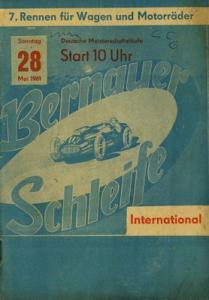 Programm 7. Bernauer Schleife 28.5.1961