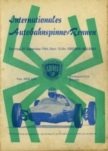 Programm Autobahnspinne Dresden 22.9.1964