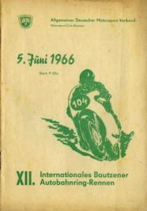Programm 12. Bautzener Autobahnring 5.6.1966