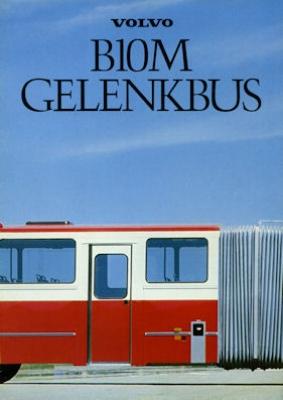 Volvo B 10 M Gelenkbus Prospekt 1982