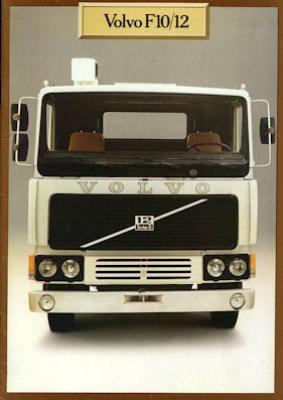 Volvo F 10/12 Prospekt 1979