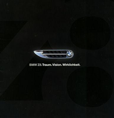 BMW Z 8 Prospekt ca. 2000