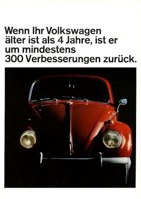 VW Käfer Prospekt 7.1964