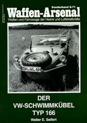 VW Schwimm-Kübel Typ 166 Broschüre 2002