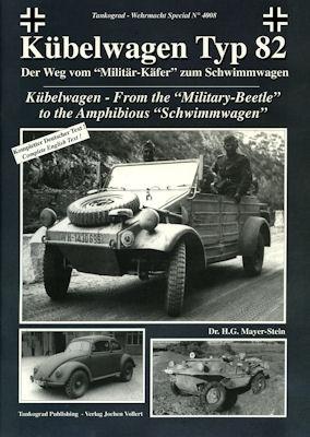 VW Kübelwagen Typ 82 Broschüre 2007