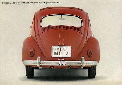 VW Käfer Prospekt 8.1964