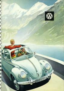VW Käfer Prospekt ca. 1959