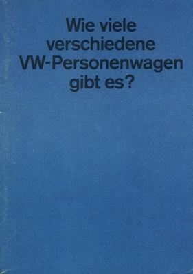 VW Programm 8.1964