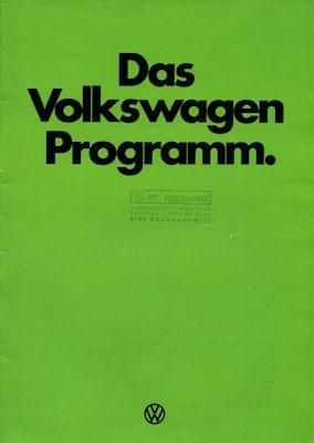 VW Programm 1.1977
