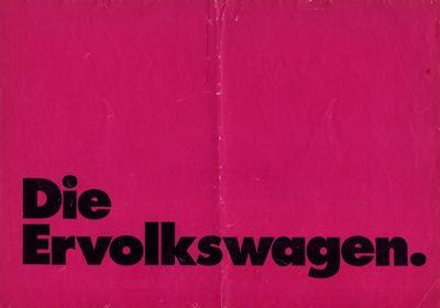 VW Programm 1970