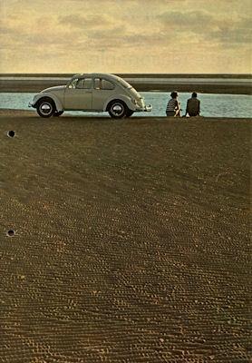 VW Käfer Prospekt 1.1967 e