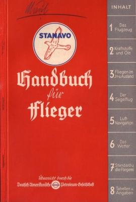Stanavo Handbuch für Flieger 1936