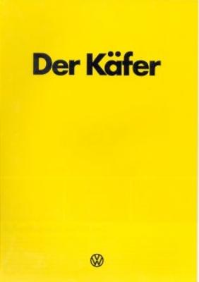 VW Käfer Prospekt 1.1978