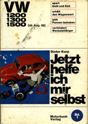VW Käfer Reparatusanleitung Korp Bd. 1 ca. 1970 0