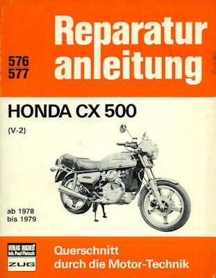 Honda CX 500 Reparaturanleitung 1978-1979