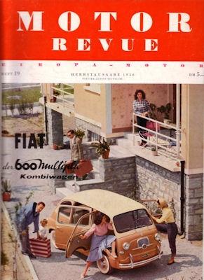 Motor Revue Nr.19 3.1956