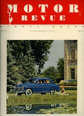 Motor Revue Nr.9 1.1954