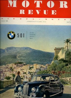 Motor Revue Nr.10 2.1954