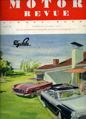 Motor Revue Nr.15 3.1955