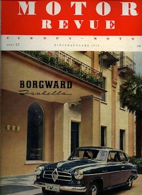 Motor Revue Nr.12 4.1954