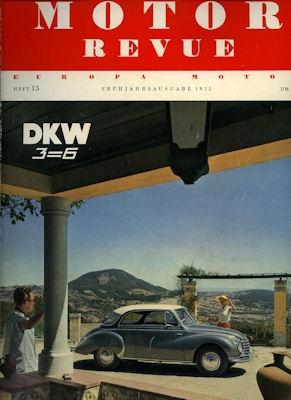 Motor Revue Nr.13 1.1955