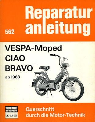 Vespa Moped Ciao Bravo Reparaturanleitung ab 1968