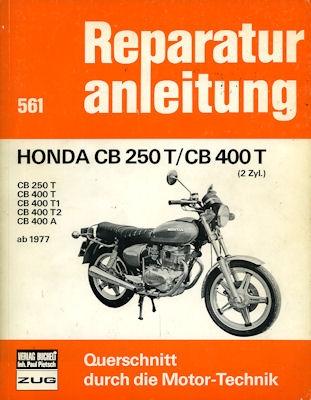 Honda CB 250 T / 400 T Reparaturanleitung ab 1977