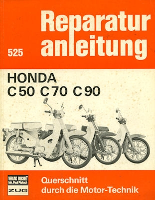 Honda C 50 70 90 Reparaturanleitung 1970er Jahre