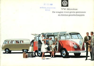 VW Bus / Transporter Prospekt ca. 1960 nl