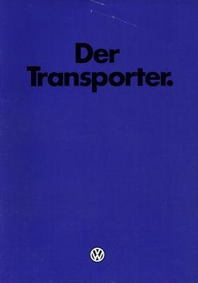 VW T 3 Transporter Prospekt 1981