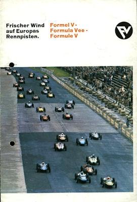 VW Formel V Prospekt 1960er Jahre