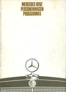 Mercedes-Benz Programm 1968 nl