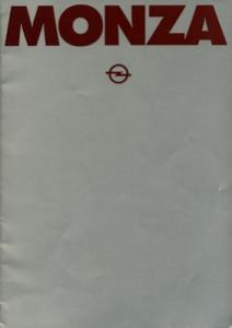 Opel Monza Prospekt 1979