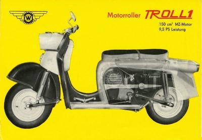 IWL Troll 1 Roller Prospekt 1963