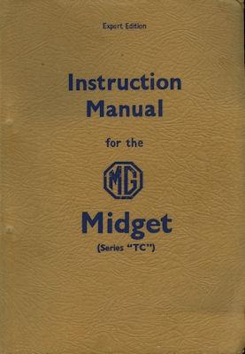 MG Midget Series TC Bedienungsanleitung 12.1946