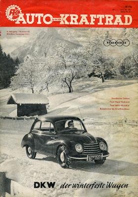 Auto und Kraftrad 1953 Nr. 12