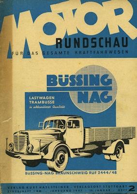 Motor Rundschau 1947 Heft 2