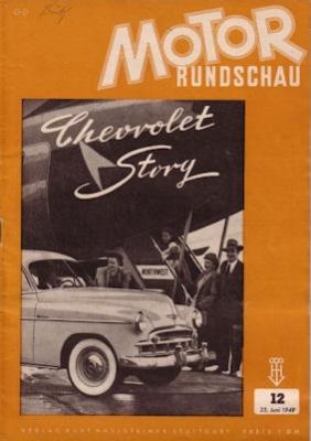 Motor Rundschau 1949 Heft 12