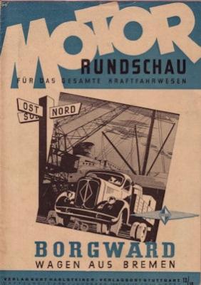 Motor Rundschau 1947 Heft 13/14
