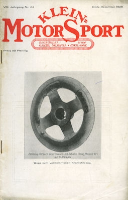 Klein-Motor-Sport 1928 Heft 24