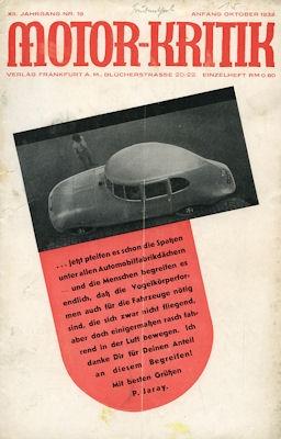 Motor-Kritik 1932 Heft 19