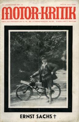 Motor-Kritik 1932 Heft 14