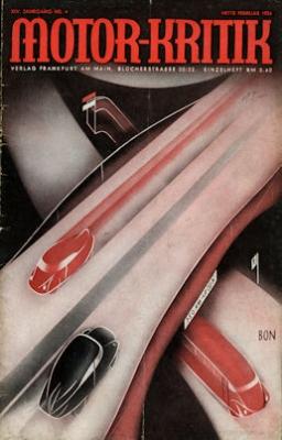 Motor-Kritik 1934 Heft 4